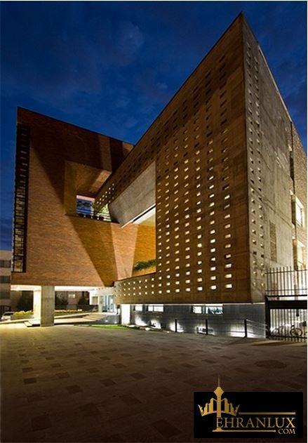 ساختمان نظام مهندسی قزوین Iranian Architecture Modern Architecture Modern Buildings