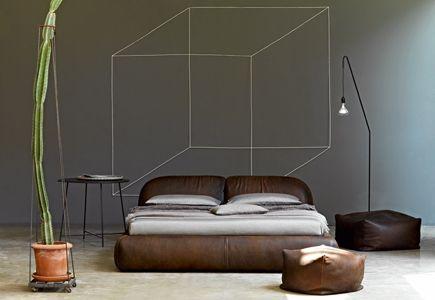 bed piumotto, design bstudio - marco boga | bedrooms | busnelli, Badezimmer