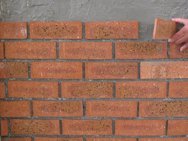 Rustic Brick Tile Cladding Ctm Country Living Brick