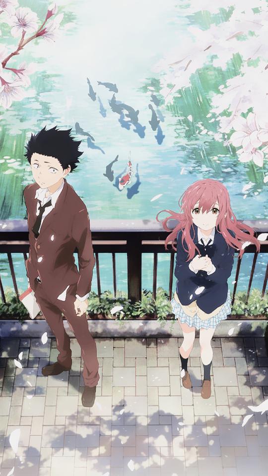 Koe No Katachi Phone Wallpapers Filmes De Anime Animes