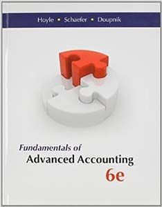 Fundamentals of advanced accounting 6th edition solutions manual by fundamentals of advanced accounting 6th edition solutions manual by hoyle schaefer doupnik free download sample pdf fandeluxe Choice Image