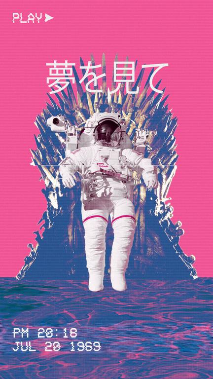 Sweet dreams : VaporwaveArt   Vaporwave wallpaper ...