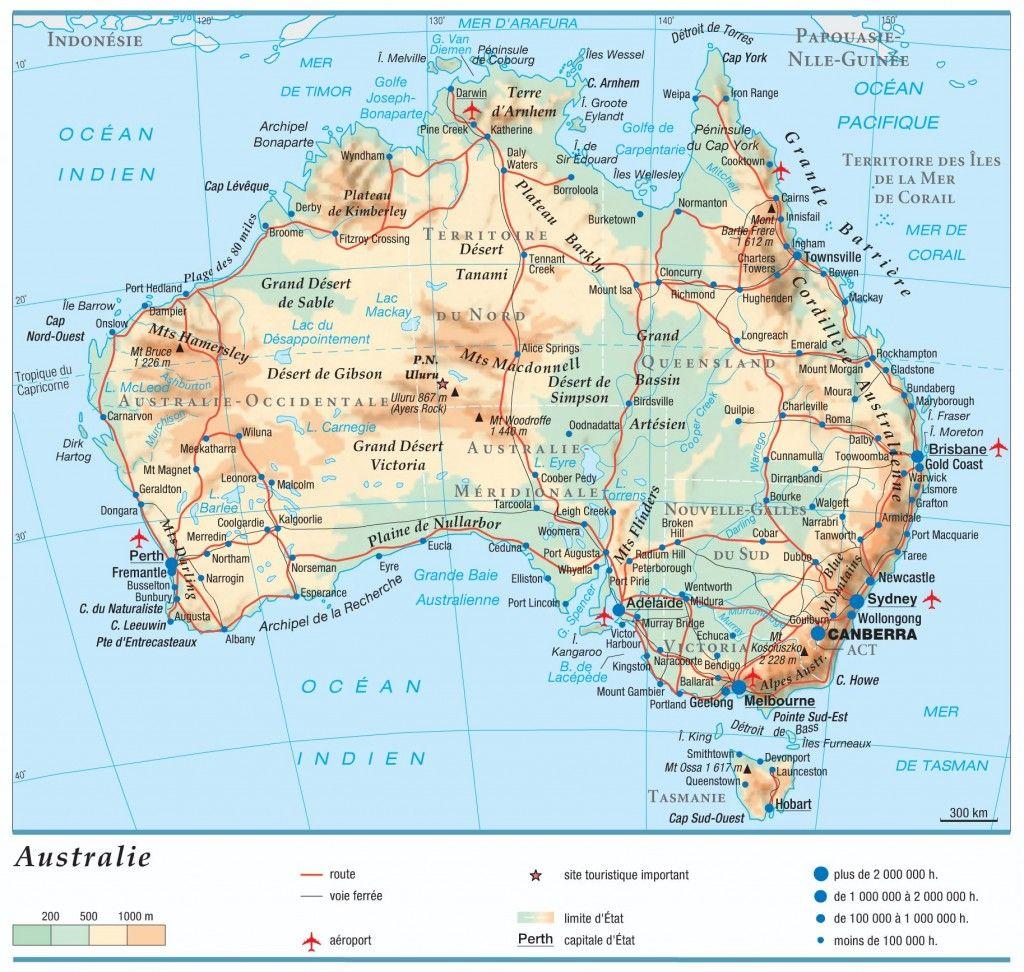 Carte Australie Australie Carte Australie Archipel