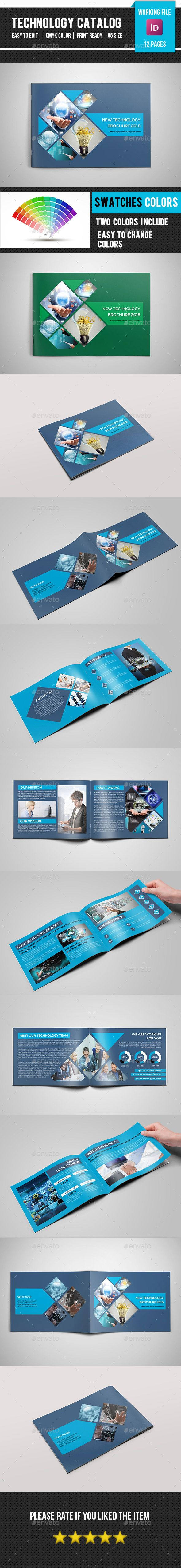 Technology Brochure/Catalog-V180 | Brochures, Corporate Brochure