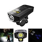 Bike Light Front Bike Light Headlight LED Cycling Waterproof Adjustable Wide Angle Rechargeable Battery 1900 lm Lithium Battery Rechargeable Power White Cycling / Bike / Multiple Modes 2019 - € 29.6 #wideangle