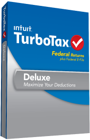 Turbotax Deluxe For Only 34 99 Turbotax Tax Software Efile