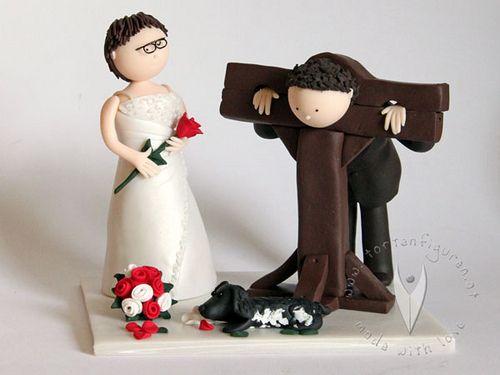 Mittelalter Pranger Brautpaar Hochzeitstortenfigur  eskv  Hochzeit torte figuren