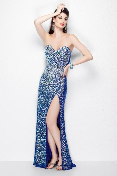 Primavera Couture 1104_BLUE #2015 #promdress | It\'s all about the ...