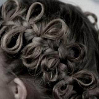 bow braid:)!