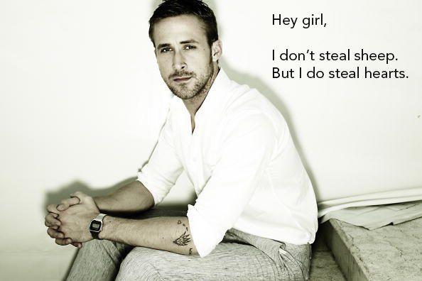 Typographer Ryan Gosling... my designer heart melts.