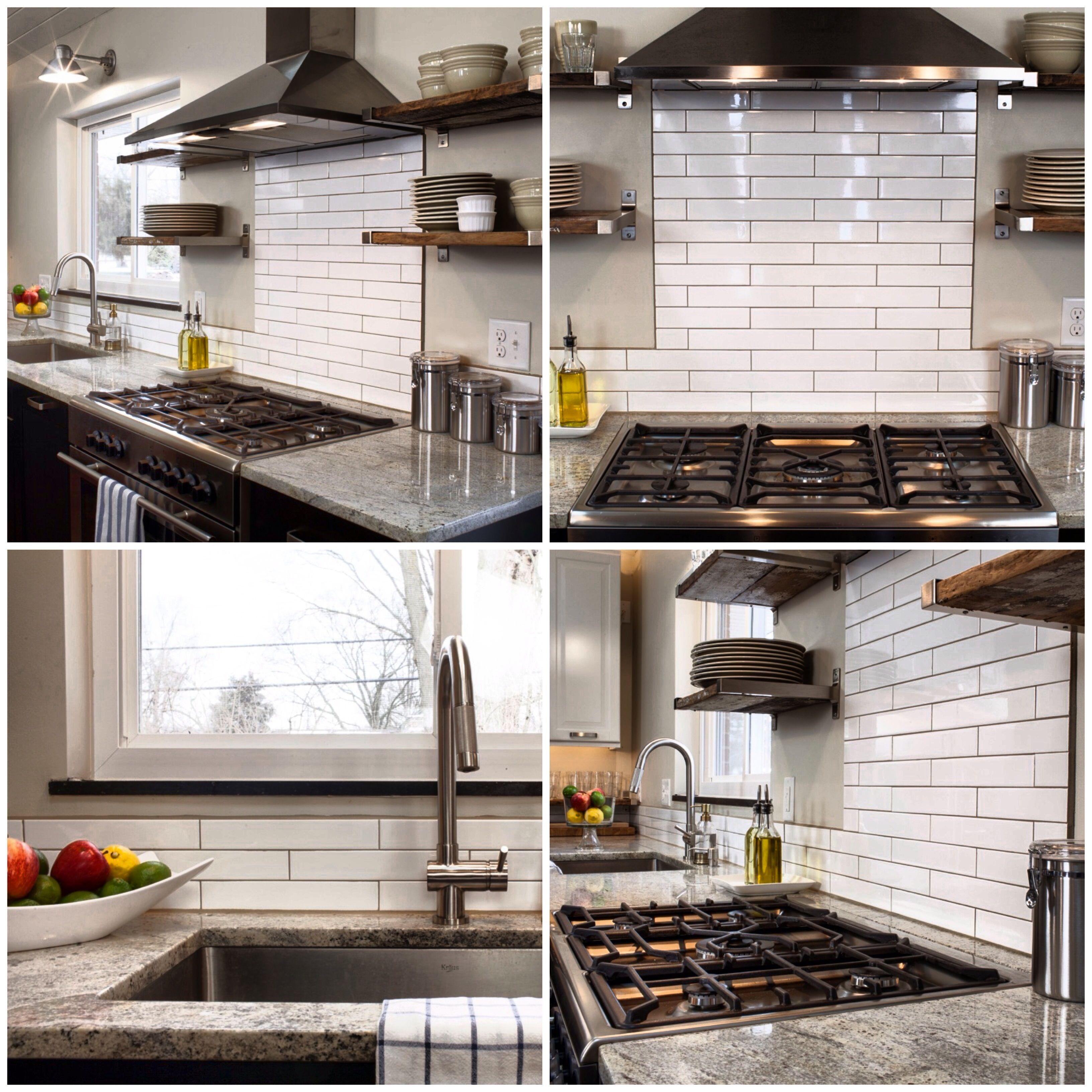 Housetweakings updated kitchen backsplash  Your