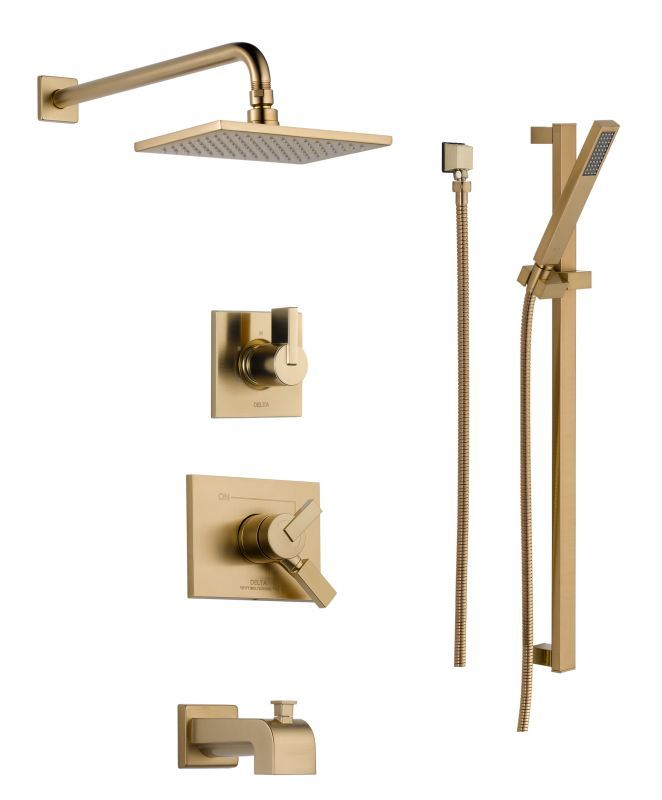 Delta Dss Vero 1704 Monitor 17 Series Pressure Balanced Tub And Shower System Wi Products Pinterest Systems