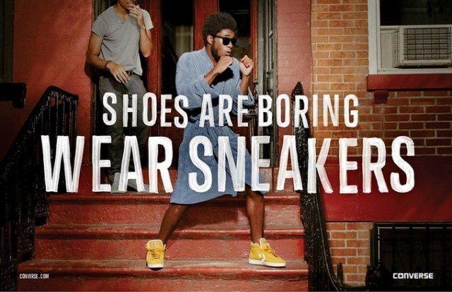Converse fashion marketing