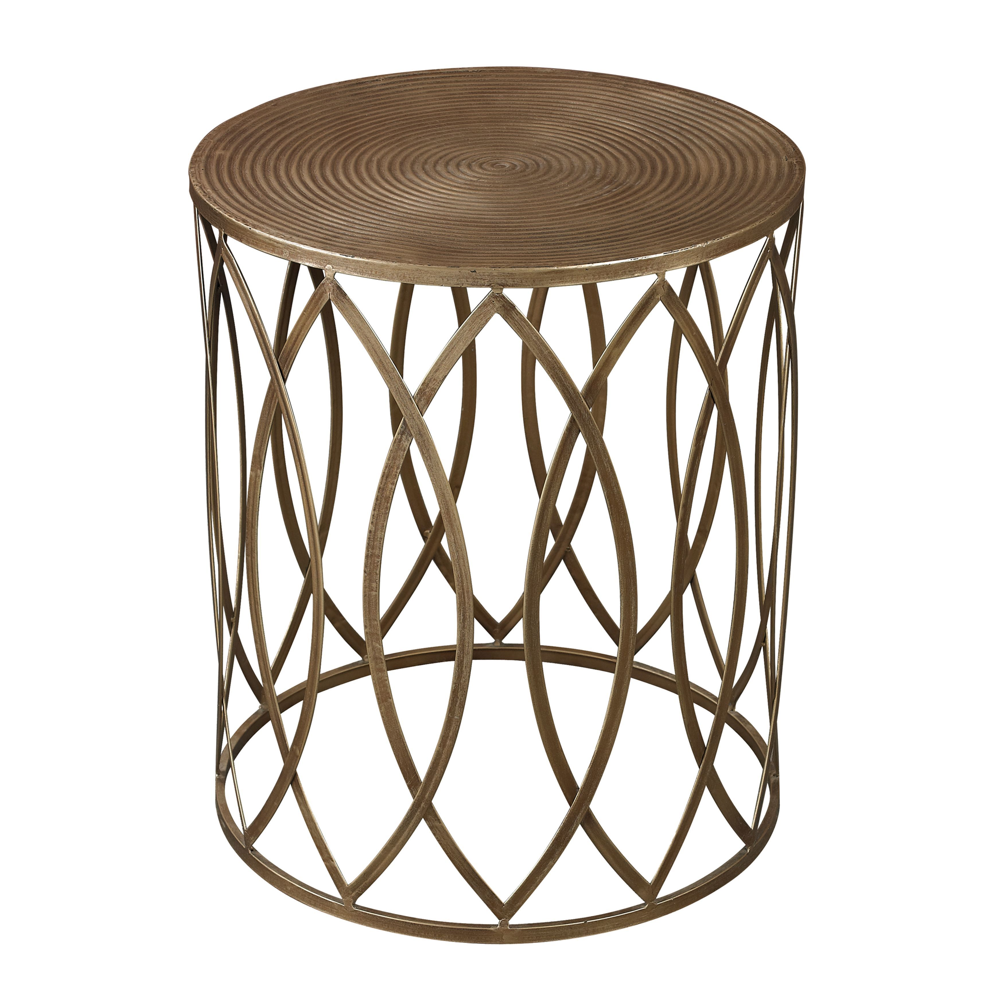 home set product hudson gold table decor tables zoa accent