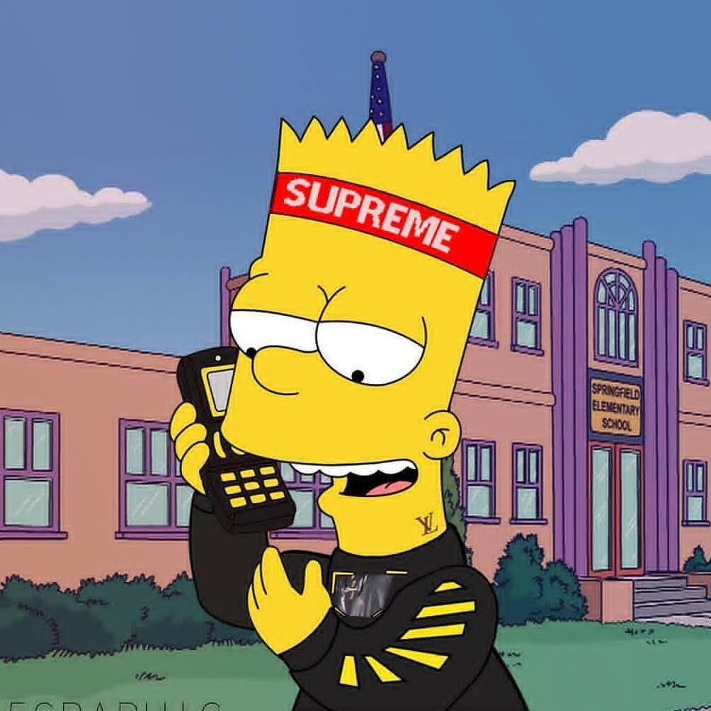 1080 X 1080 Supreme Spongebob