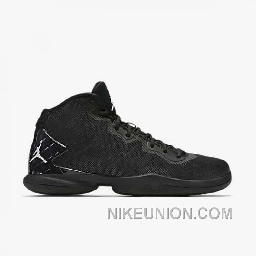 Jordan Super.Fly 4 Black/Dark Grey/Infrared 23/White
