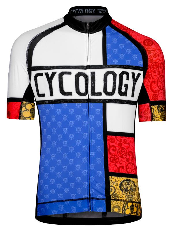 Mondrian - Original take on a classic design from Cycology.  cycology 0c8fb0e3b