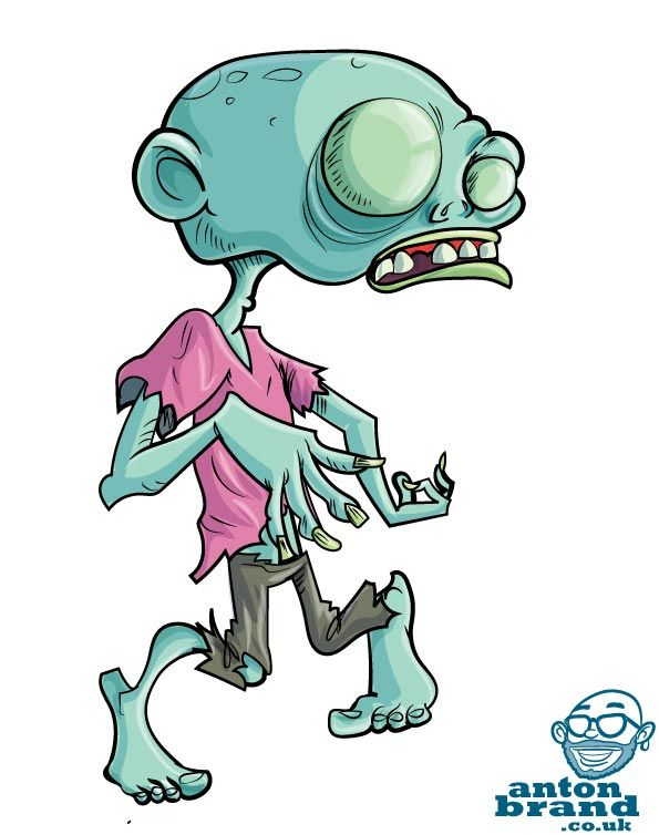 Todays Pic Antonbrand Zombie Cartoon Graffiti Characters Graffiti Drawing