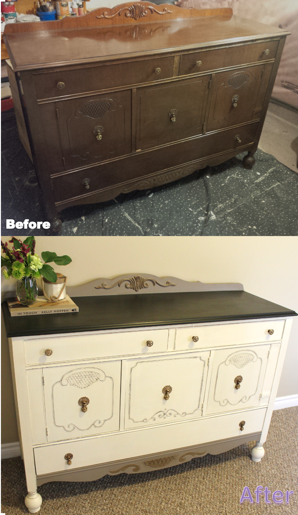 My Passion For Decor The Big Back Breaker Project Refinishing Furniture Furniture Diy Furniture Projects