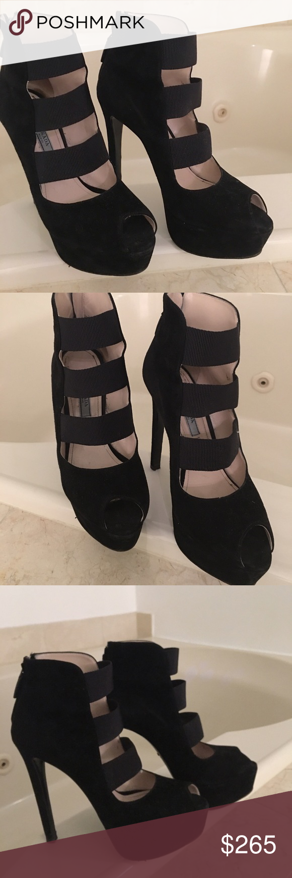 Prada pumps Good condition, don't miss The offer Prada Shoes Platforms