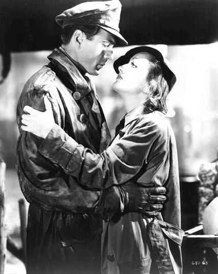 Gary Cooper & Joan Crawford in Today We Live (1933)