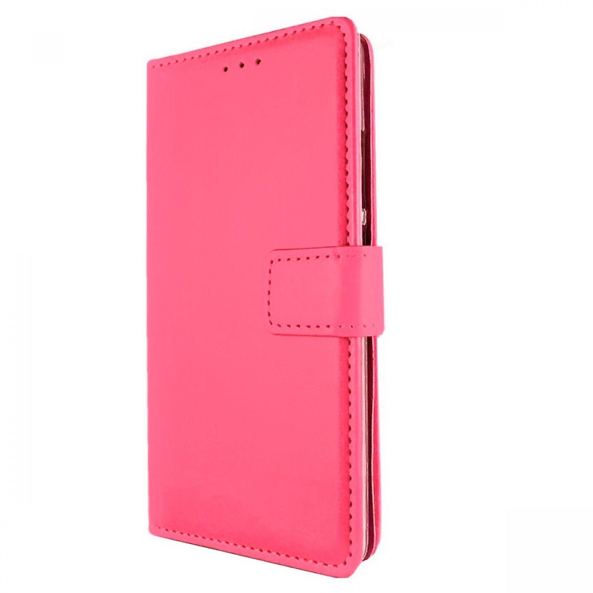 Samsung Galaxy S9 Plus portemonnee hoesje Donker roze