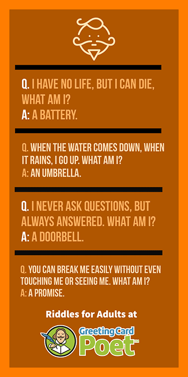 Fun Riddles for Adults to Challenge the Mind Riddles