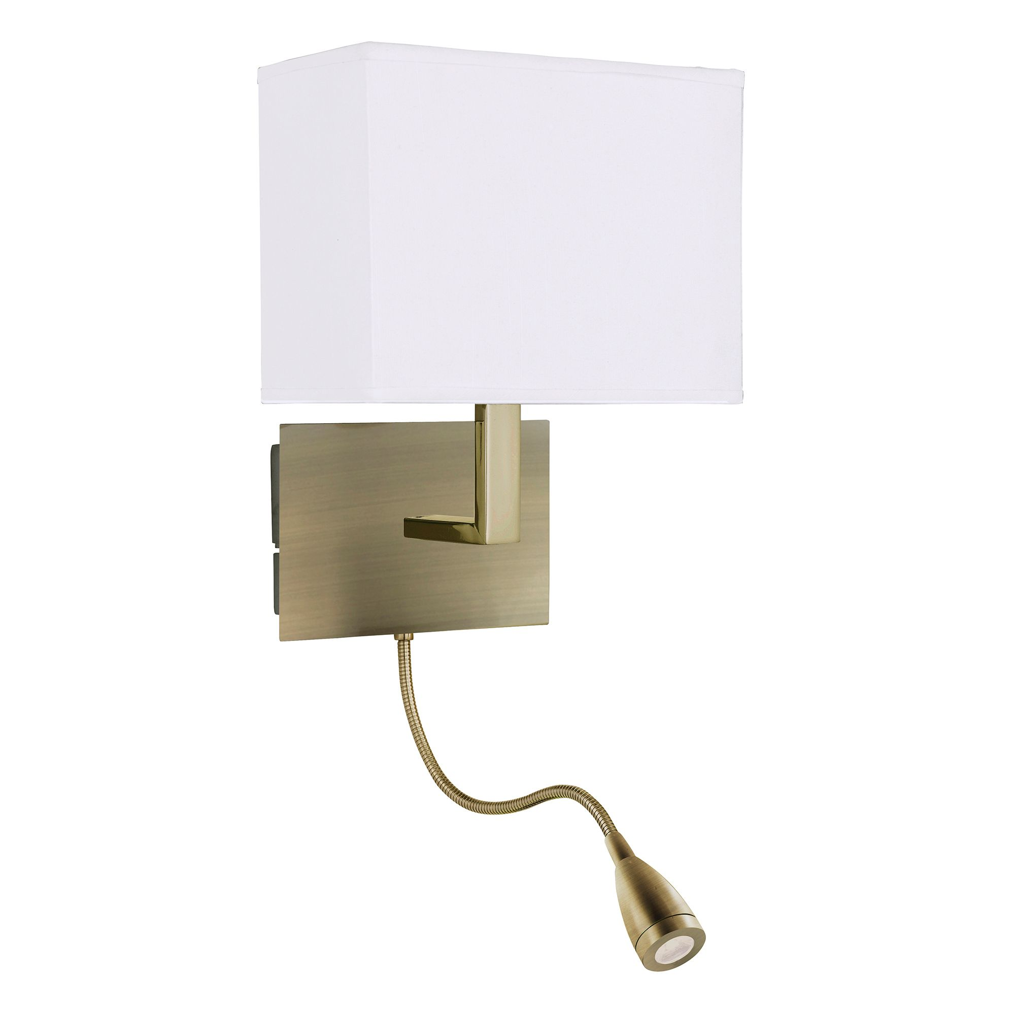 A Great Combination Of Practicality And Style The Maddox Led Integral Wall Light Is A Great 2 In 1 Light Fitting Ideal For Bedside Wall Lights Sconces Indoor Wall Lights