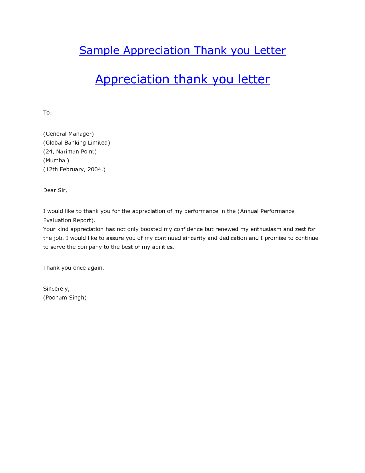 Examples Thank You Letters After Informational Interview Sample