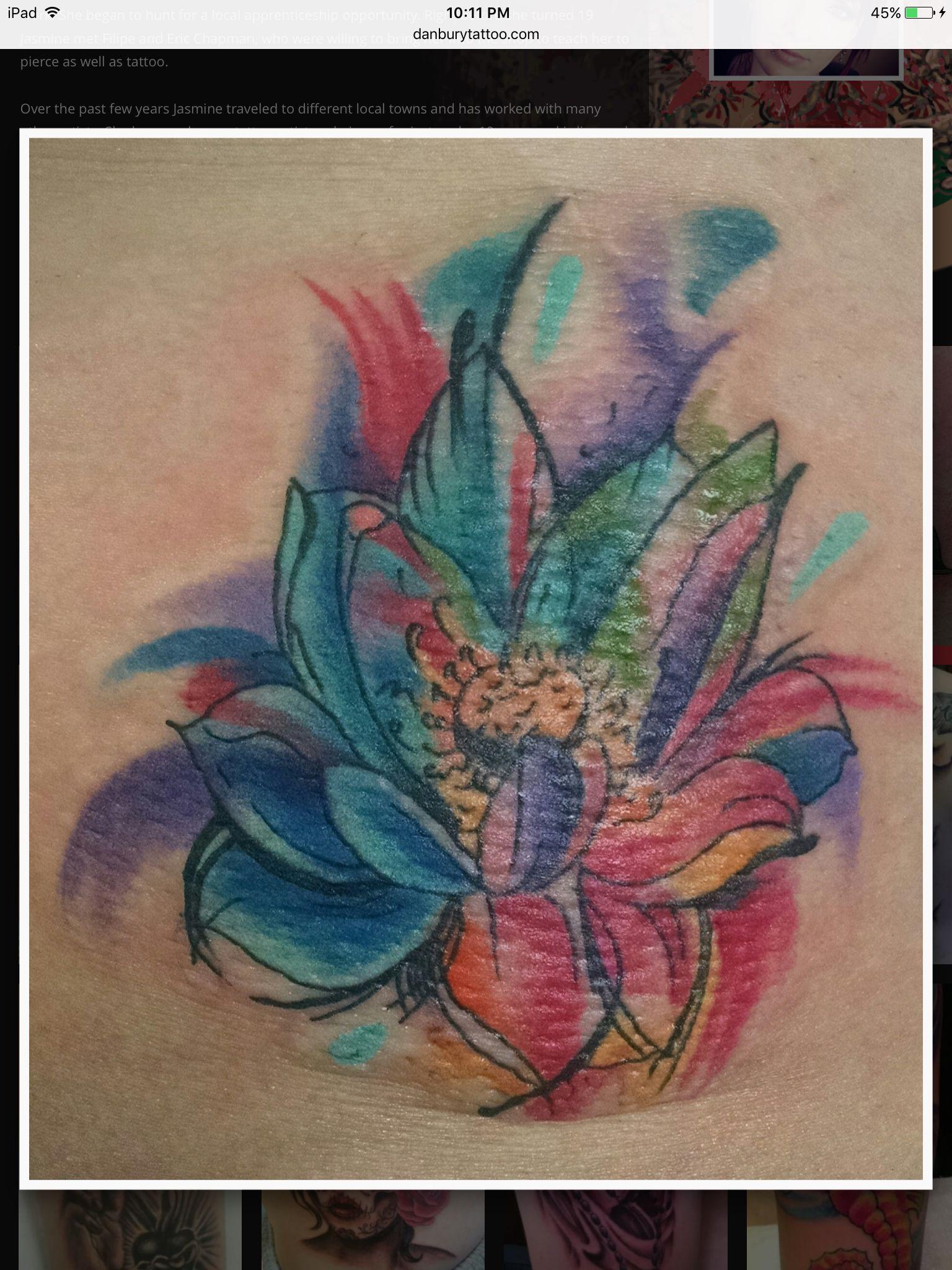 Jasmine danbury tattoo and piercing danbury ct