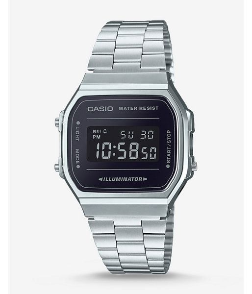 f15c89277007 Casio Silver Illuminator Watch Men s Silver