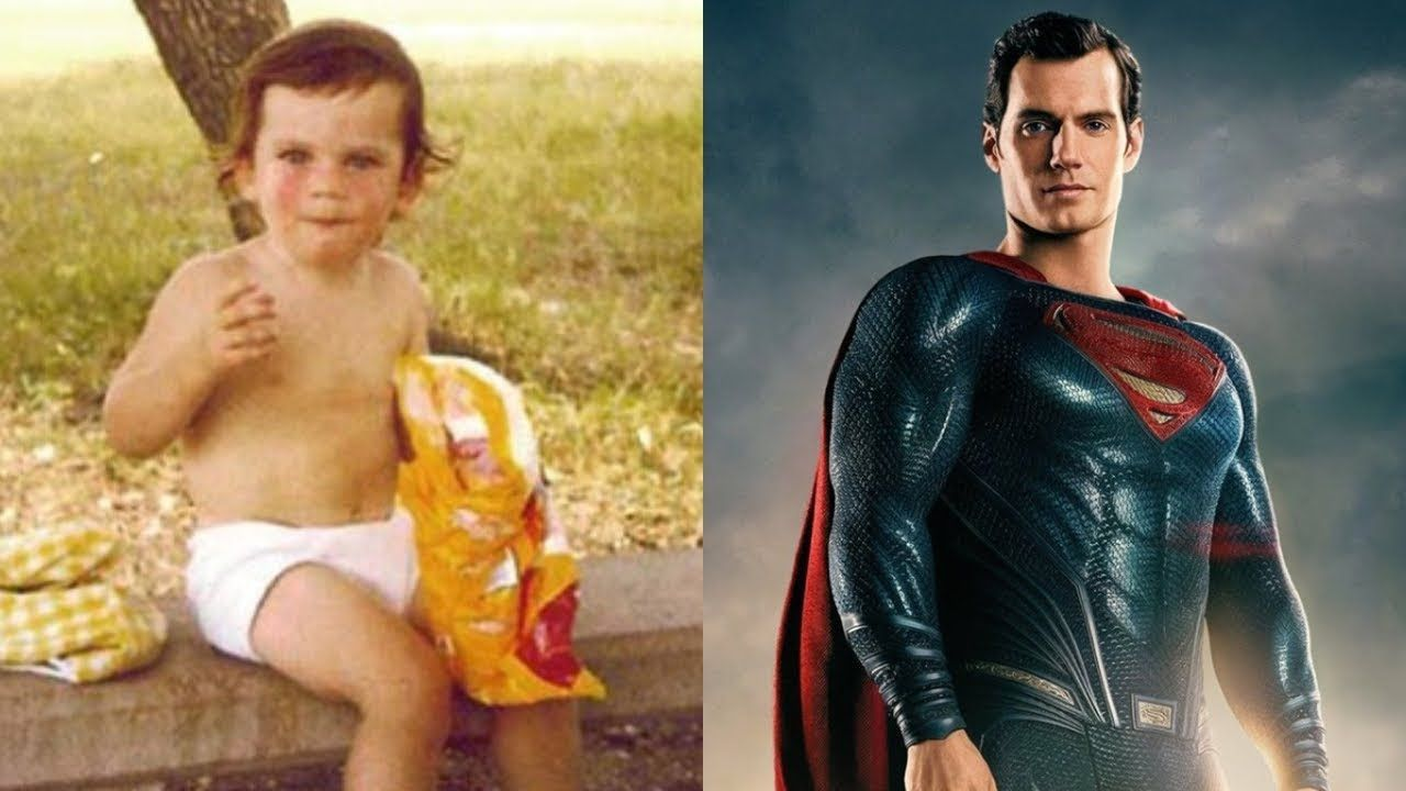 Henry Cavill Superman From 2 To 35 Years Old With Images