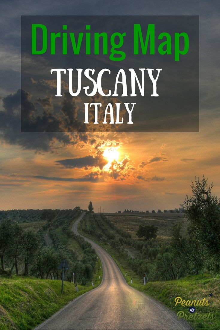 Detailed Map Of Tuscany Italy.Driving Map Of Tuscany Italy The Road Trip You Should Take