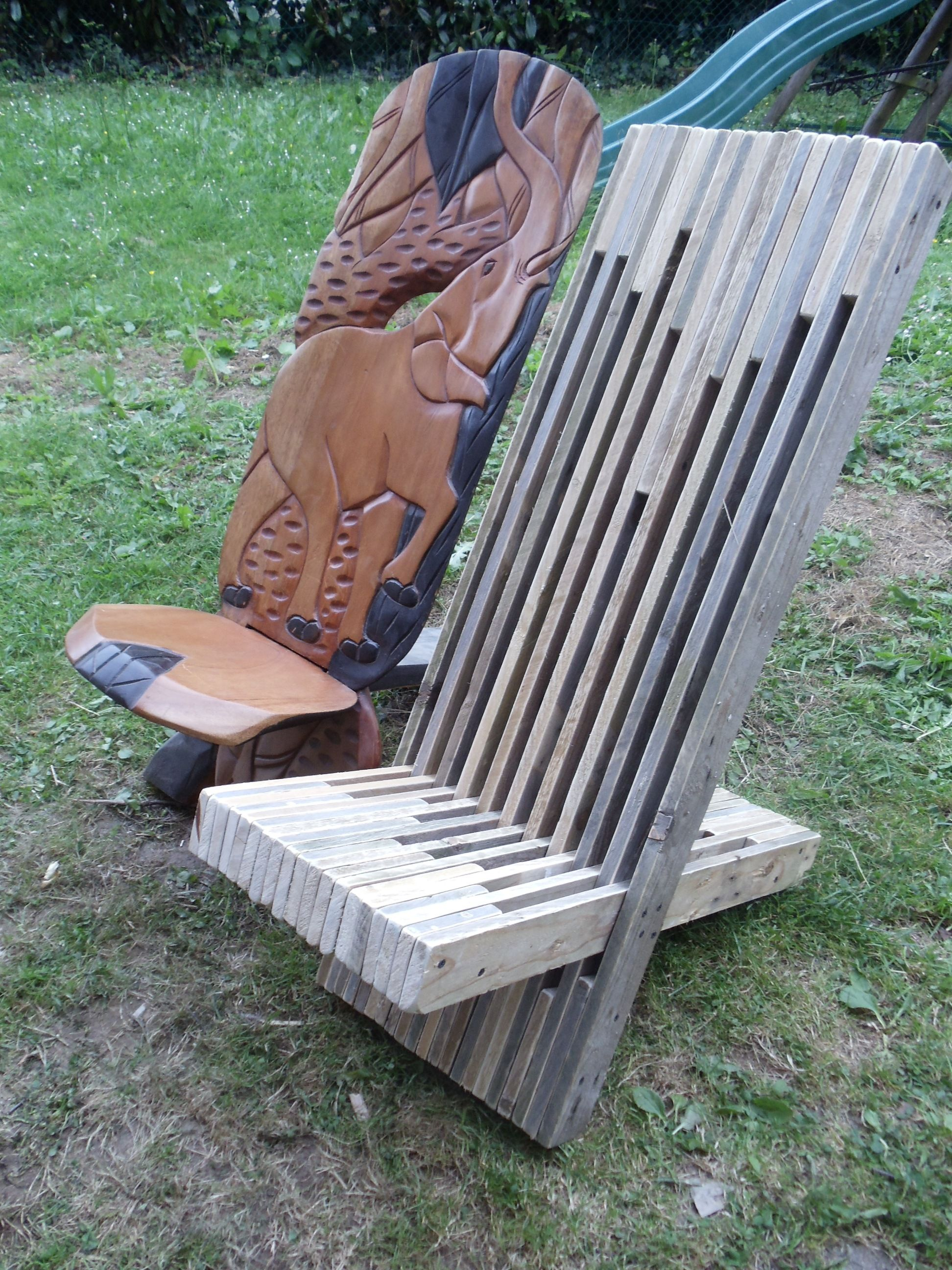 Petite Chaise Africaine A Palabre