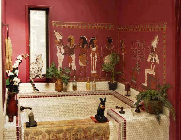 Egyptian Bathroom Decoration Decoration Interieure Deco