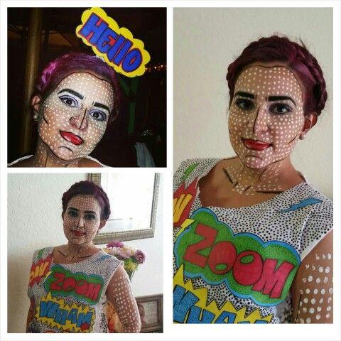 Result! Pop Art costume