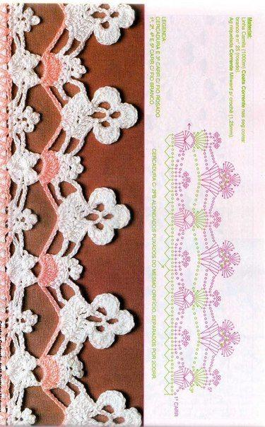 Pin de Claudia B en Diagramas | Pinterest | Gabriel, Ganchillo y Tejido