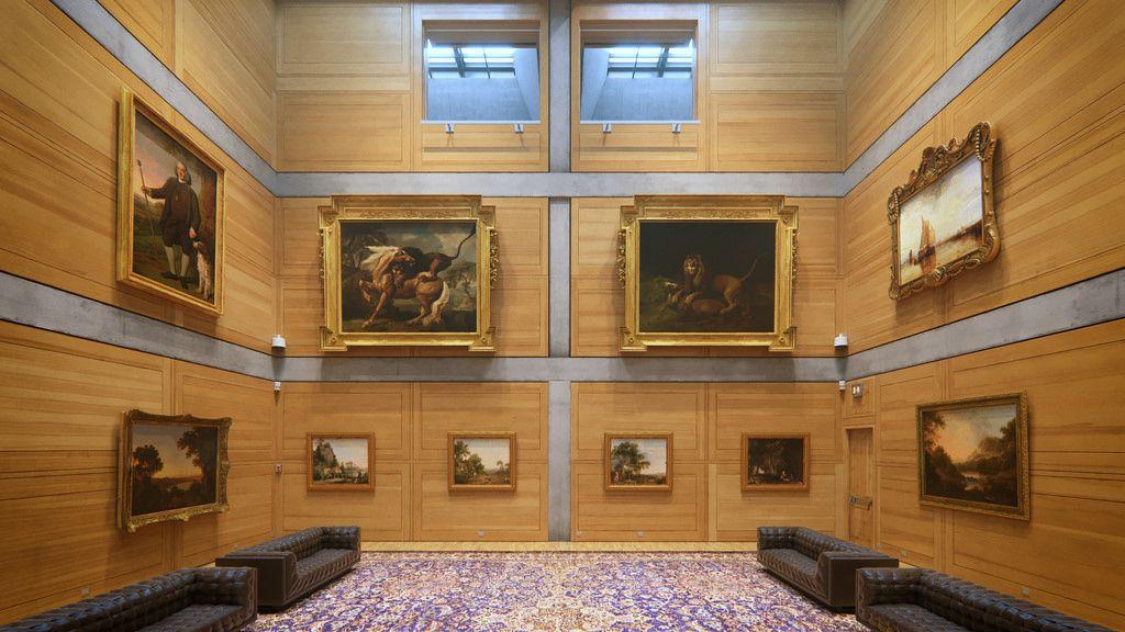 Louis Kahn's Yale Center for British Art -