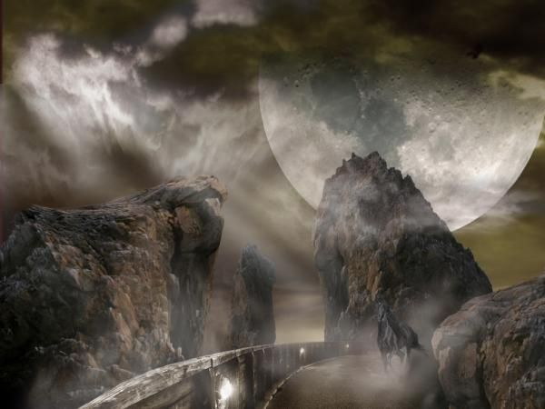 neosurrealism_road to another world_moon