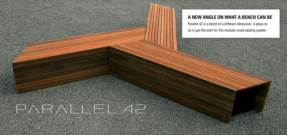 Superb Landscapeforms Parallel 42 Parallel 42 Is A Modular Wood Gmtry Best Dining Table And Chair Ideas Images Gmtryco