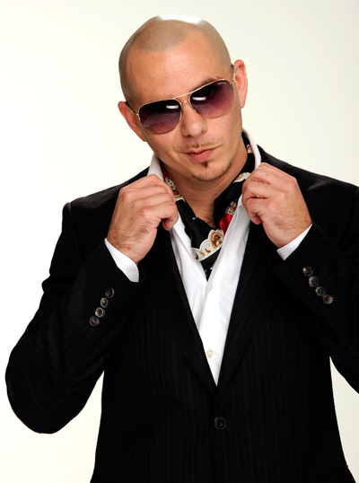 Pitbull, love his voice Pitbull rapper, Bald men