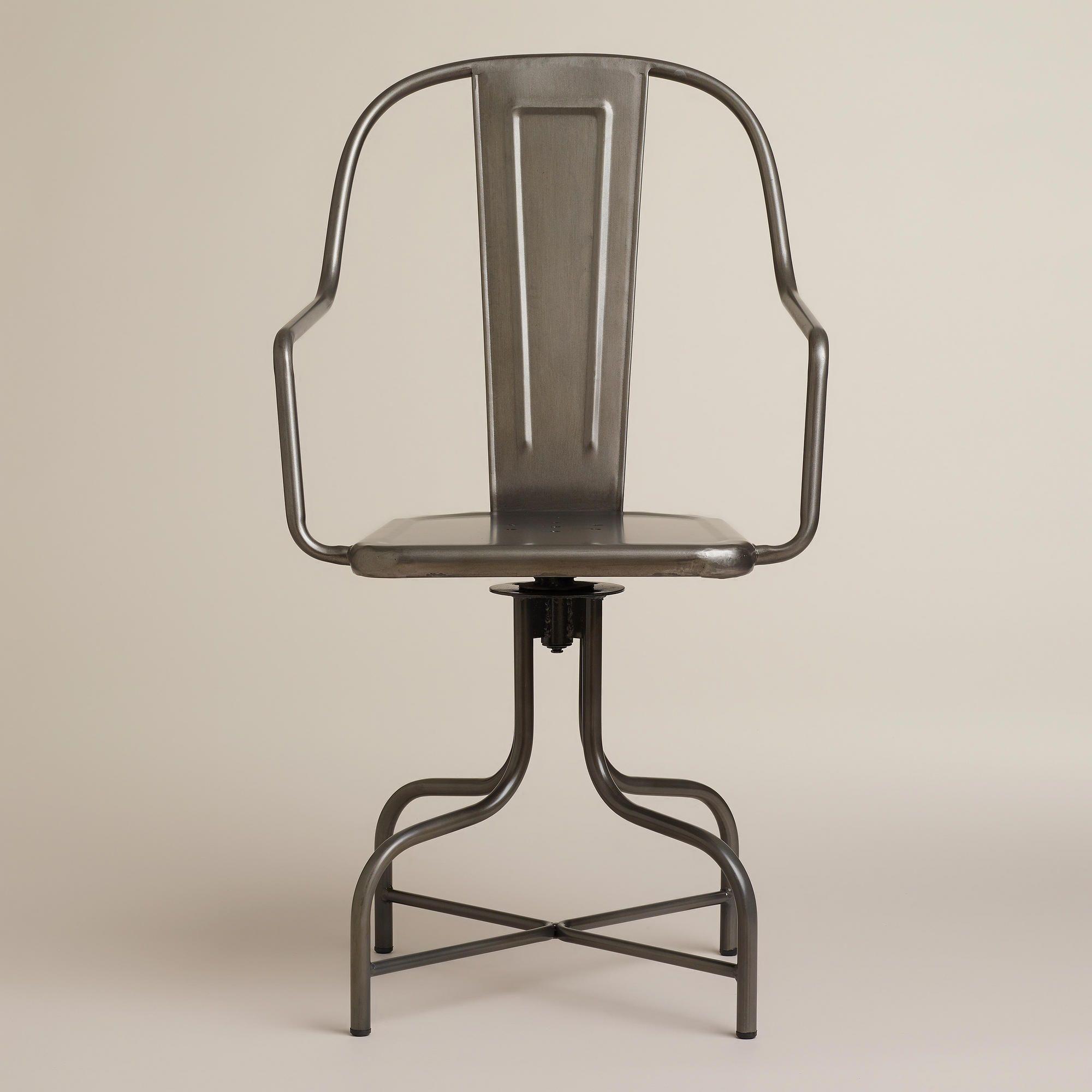 Celia metal swivel chair world market swivel chair