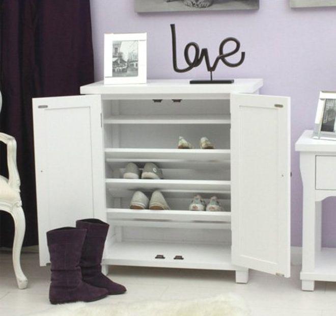 Hampton White Shoe Cupboard | Utility | Pinterest | Shoe storage ...
