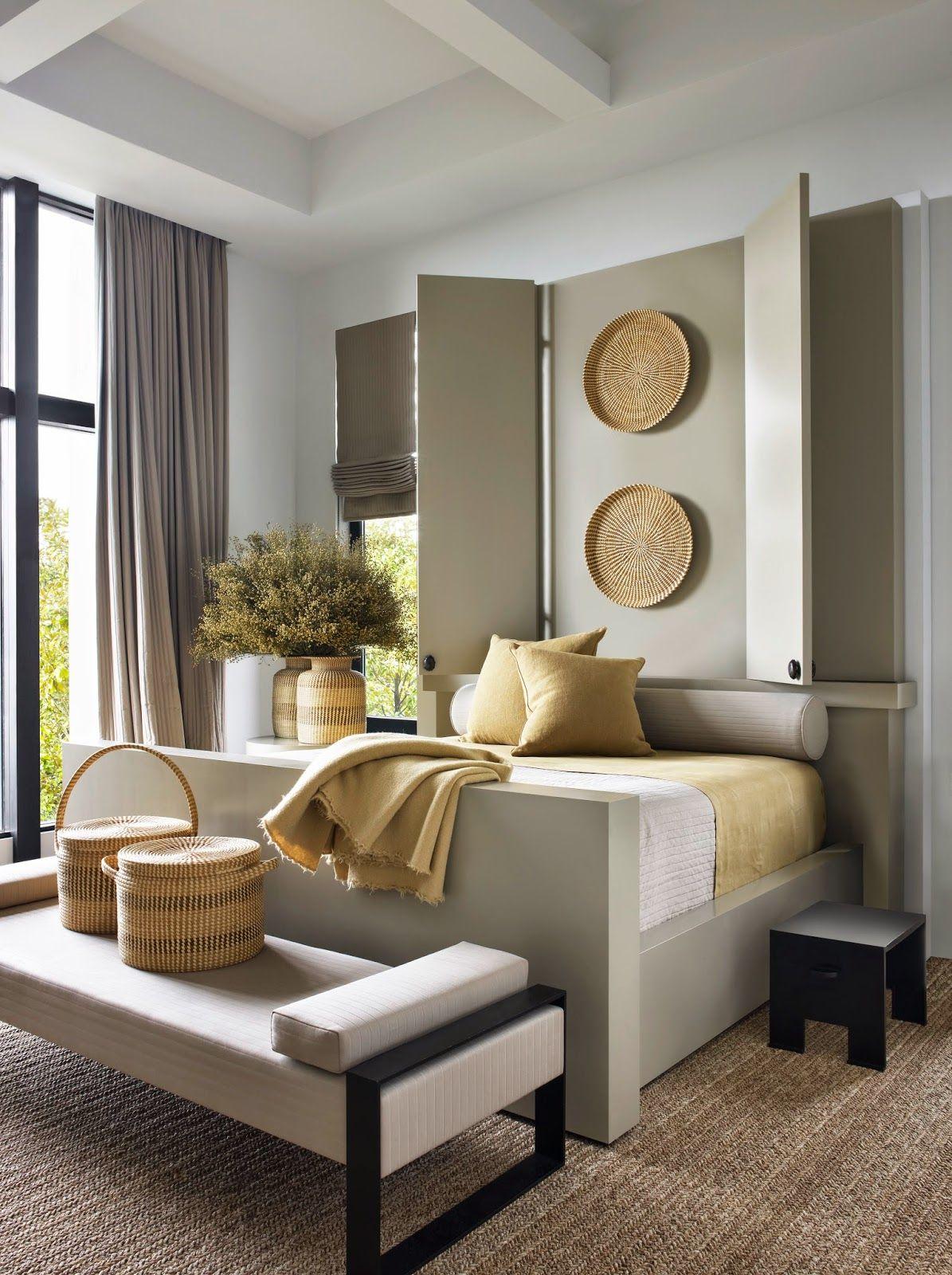 Interior Design Of Guest Room: Intriguing Bed ~ Nancy Braithwaite Design