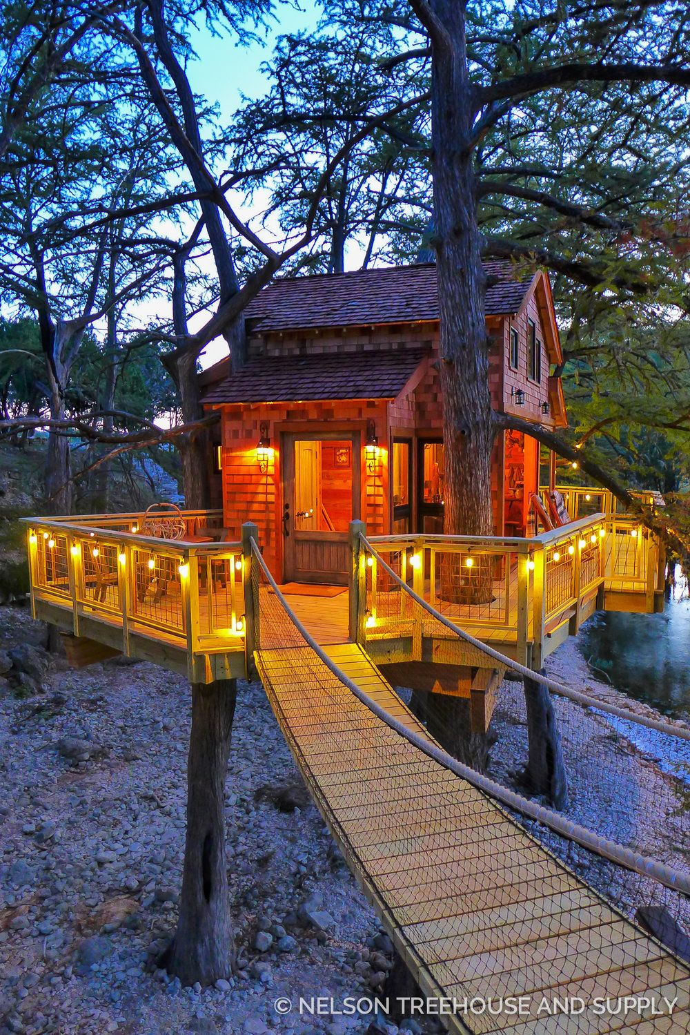 Nelson Treehouse Season 6 Frio River Treehouse