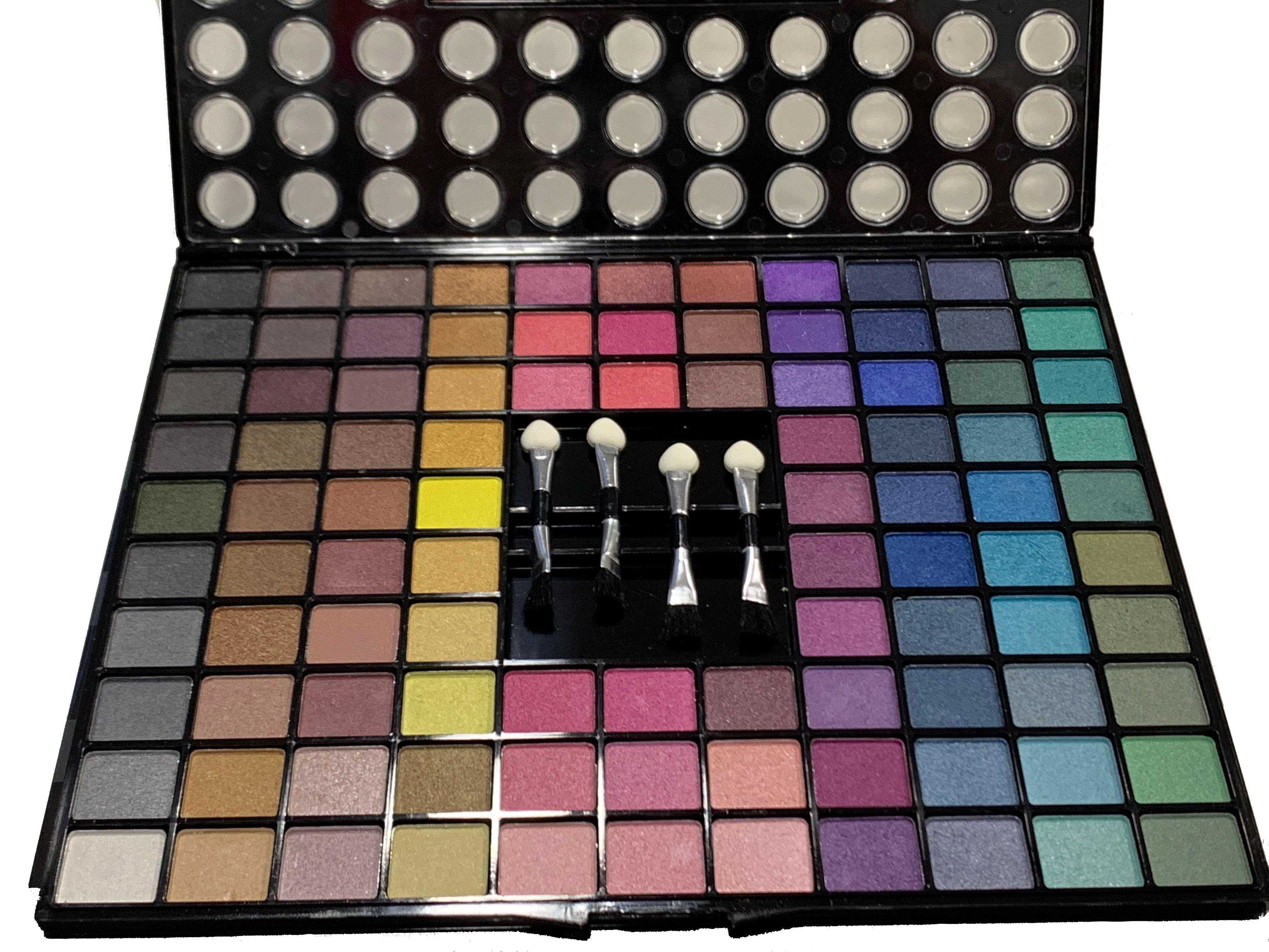 Preciosa Paleta De Sombras Eyeshadow Con Colores Frios Como Son