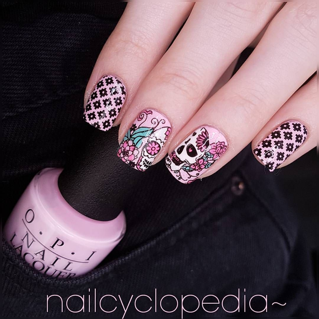 Mexico 01 | Moyou London(Mexico) - Stamping Nail | Pinterest