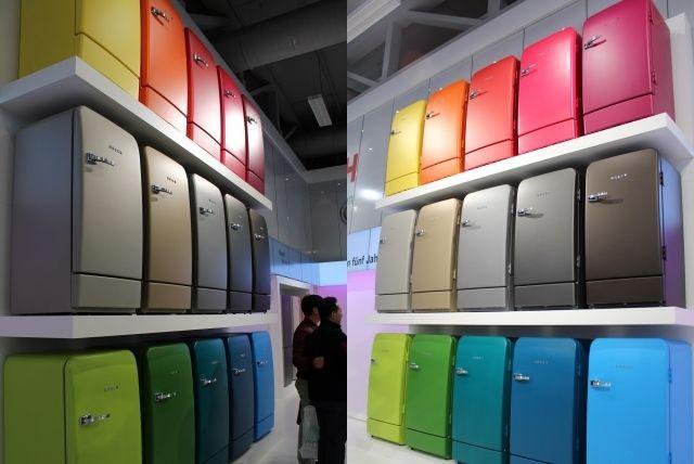 Schön Bosch Retro Kühlschrank Wieder Auf Dem Markt Mehrere Farben Zur Auswahl