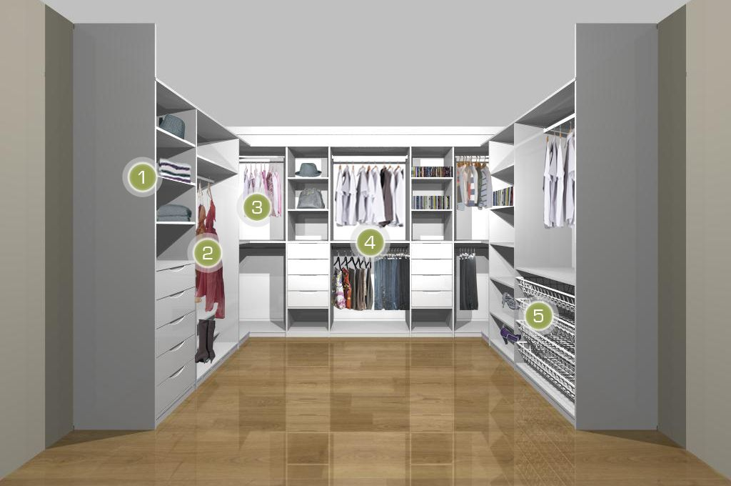 Walk In Wardrobe Bedroom Dressing Room Storage Closet Designs