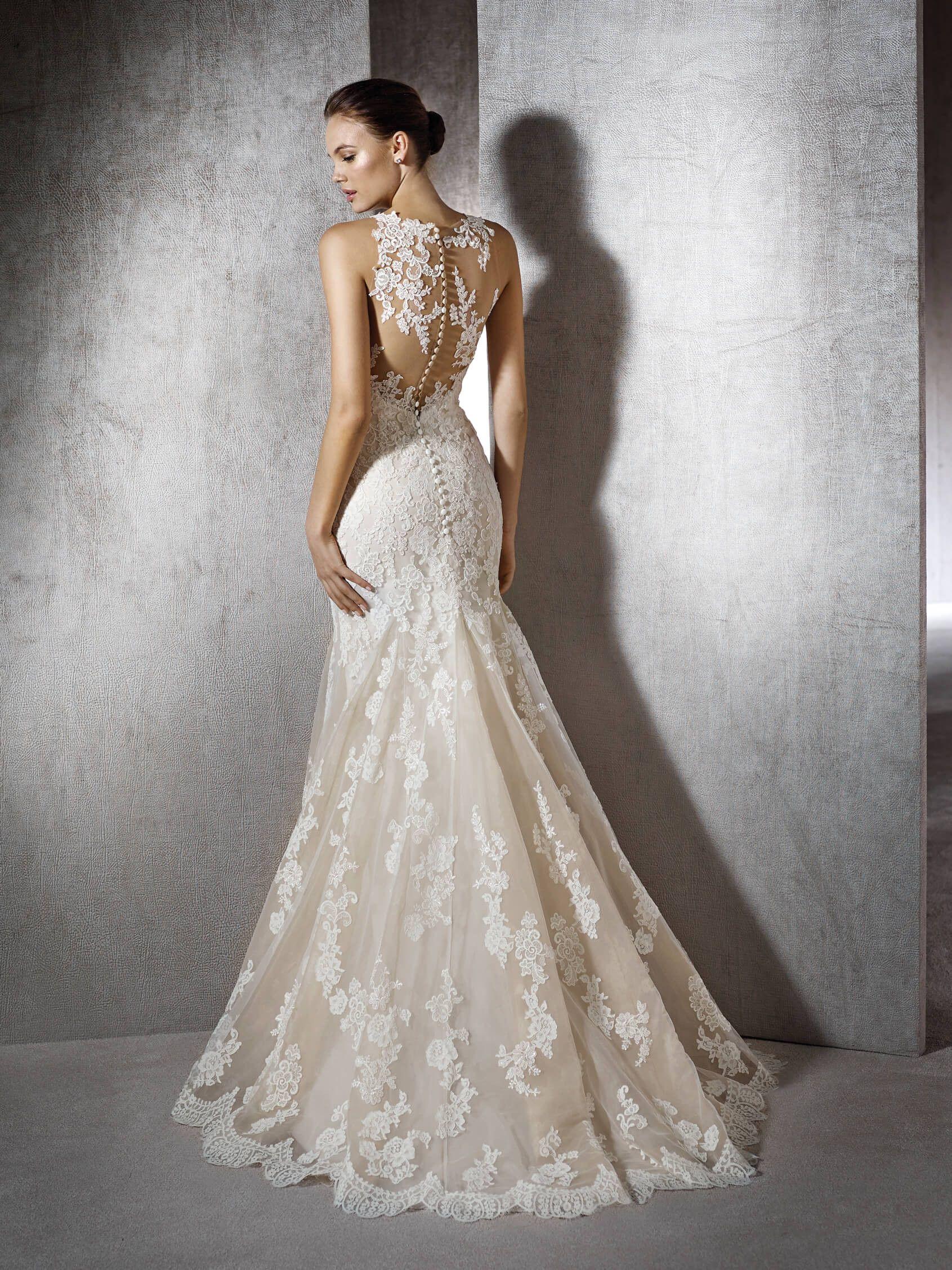 Zeneta mermaid dress, with sweetheart neckline | Mermaid/Ruffle ...